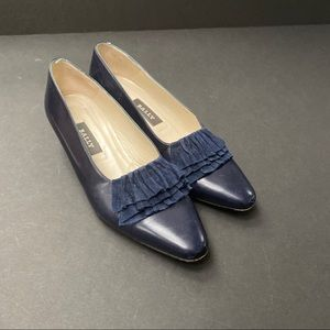 Bally Beverly Leather Pumps